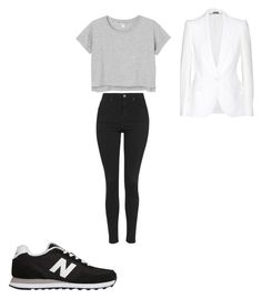 """""""Untitled #274"""" by anita-smiley on Polyvore featuring New Balance, Topshop, Monki and Alexander McQueen"""