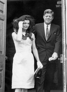 """sophieandbrianna: """"JFK and Jackie """""""