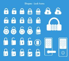 30 Lock Icons for your ecommerce designs. - Love a good success story? Learn how I went from zero to 1 million in sales in 5 months with an e-commerce store. Flat Design, Logo Design, Lock Icon, Mobile Icon, Success Story, App Ui, 5 Months, Internet Marketing, Game Art