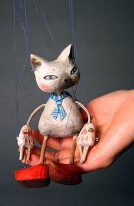 """""""Přístavní Kočka"""" by Sota SAKUMA Na Dlani Marionette Series"""