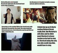 Richard Brook and Moriarty.... TWINS?!? <----- interesting theory