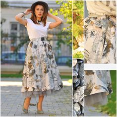 Feel like a princess all day long, act like a star and shine like you own the world! Occasion Wear, Special Occasion, Creative Design, Ballet Skirt, Street Style, Stars, Princess, How To Wear, Color