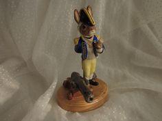 Royal Doulton Bunnykins Captain with Cannon Figurine The Shipmates Collection