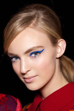makeup by Pat McGrath: Anna Sui, Fall 2012 Ready-To-Wear