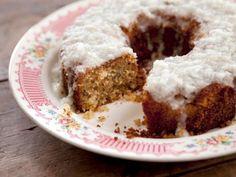 Get Grandma Yearwood's Coconut Cake with Coconut Lemon Glaze Recipe from Food Network