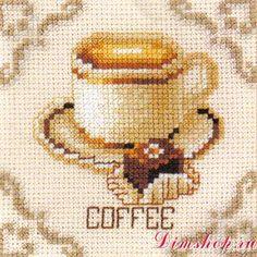 Набор для вышивания Vervaco 45317 Coffee