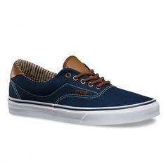 VANS ERA 59 C&L dress blues stripe denim chaussures hommes 79,00 € #skate #skateboard #skateboarding #streetshop #skateshop @playskateshop