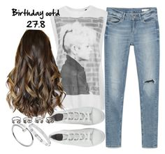 """""""Untitled #3359"""" by plainly-marie ❤ liked on Polyvore featuring Zara, Tee and Cake, Maison Margiela, Cartier, birthday, ootd, ootn, birthdaygirl and birthdayootd"""