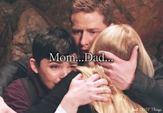 "Emma: ""Mom...Dad..."" -The moment every Oncer has been waiting for since the show started. When Emma finally called them Mom and Dad. <3"