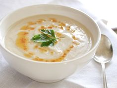 White Velvet Soup  - Cauliflower n Beans. Absolutely delicious, filling and healthy. Rich, creamy flavor.