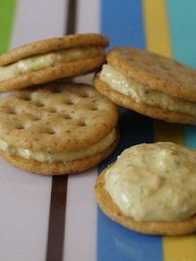 Veggie Cream Cheese: 1\4 tsp salt instead. Used 1\4 tsp onion powder instead of chives. Kids loved it!