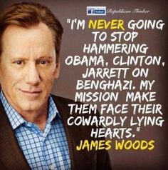 Thank you James Woods for having the courage to stand up to these psychos who think they have the power to do what they want and that they are above the law!!.
