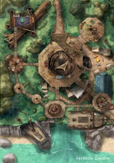 Dungeons And Dragons 5, Dungeons And Dragons Homebrew, Dnd World Map, Village Map, Scale Map, Rpg Map, Art Rules, Dnd Art, Dungeon Maps