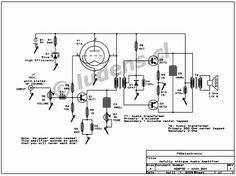 Dave Schmarder's 2 tube audio amplifier tone circuit