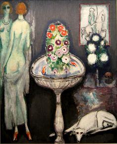 Kees van Dongen - La vasque fleurie (1917)