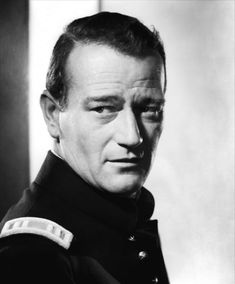 "John Wayne in ""Fort Apache"" (1948). Country: United States. Director: John Ford."