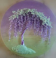 درختچه ویستریا منجوقی Beaded wisteria