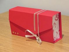 Clutch Bag Gift Box Tutorial using Flowering Flourishes by Stampin' Up - YouTube