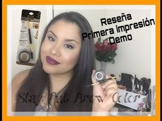 Milani   Stay Put Brow Color   Pomada para ceja   Reseña, Primera impresión y Demo   Myririmy - YouTube