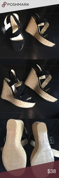 🆕 NWOT Marc Fisher Espadrilles Super cute summer wedges, 4 inch heel height. Marc Fisher Shoes Wedges