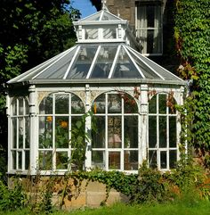 wrought iron house conservatory