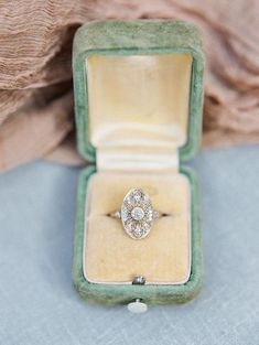 Floral Engagement Ring, Vintage Engagement Rings, Vintage Rings, Estate Engagement Ring, Solitaire Engagement, Ring Set, Ring Verlobung, Antique Diamond Rings, Art Deco Diamond Rings