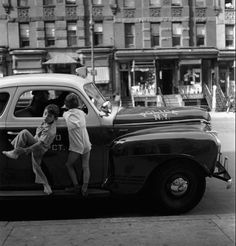 Fred Stein - Police Car, New York City, 1942 www.fredstein.com