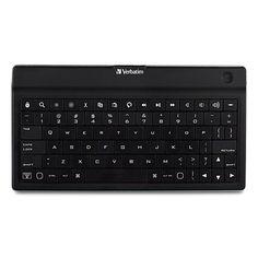 Shop for Verbatim Bluetooth Ultra-Slim Wireless Mobile Keyboard Black. Nexus Tablet, Samsung Galaxy Tablet, Nexus 7, Bluetooth Keyboard, Computer Keyboard, Verbatim, Google Nexus, Ipod Touch, Ipad