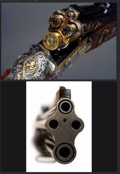 Weapons Guns, Guns And Ammo, Custom Guns, Hunting Rifles, Weapon Concept Art, Cool Guns, Fantasy Weapons, Firearms, Shotguns