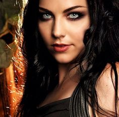 Amy Lee/Evanescence  She is a talented musician and Rock Goddess
