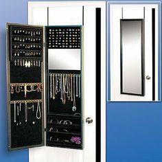 Jewelry Storage Ideas Mirror jewelry storage Jewelry storage and