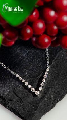 18838d0d6 Sterling Silver 1/5ctw Lab Grown Diamond V Pendant Lab, Feminine, Diamonds,