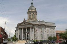 The Cherokee County Courthouse is in downtown Murphy, North Carolina. Today, it is supplemented by a more modern Cherokee County Justice Center.