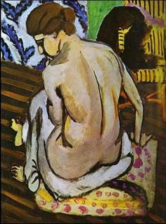 Nude's Back Henri Matisse Date: 1918 Style: Post-Impressionism Genre: nude painting (nu) Media: oil, canvas Location: Philadelphia Museum of Art, Philadelphia, PA, USA Henri Matisse, Matisse Kunst, Matisse Art, Figure Painting, Painting & Drawing, Matisse Pinturas, Matisse Paintings, Pablo Picasso, Philadelphia Museum Of Art