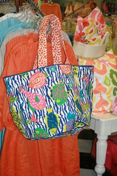 new gretchen scott bags....we have the pareo's to match.