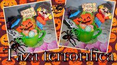 DIY| Taza terrorifica | Halloween | 👻 👾 👻 👾 👻 👾 👻 👾 👻 👾