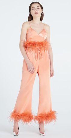 Ostrich Feathers, Off Colour, Size Chart, Pants For Women, Jumpsuit, Buttons, Decorations, Closure, Crop Tops