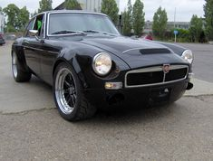Image result for mgb gt v8 black