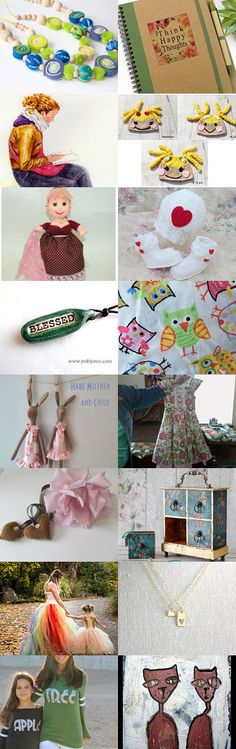 Mommy and Me! by Nancy on Etsy--Pinned+with+TreasuryPin.com