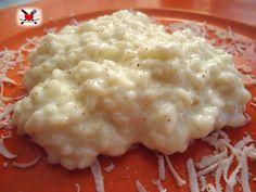 Risotto cremoso al latte e parmigiano
