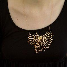 Nervous System   Shop   Large Radiolaria Pendant. 3D printed, mathematics jewlery
