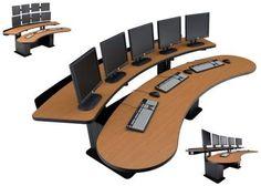 Viking Banana Table Control Room Console #EHBAN-18