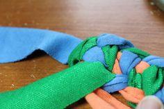 PDF Tutorial Swedish Braid Rag Rug AKA Double Toothbrush Rug