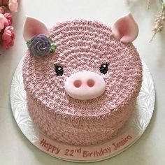 to Choose Baby Shower Lamb Cake Ideas - Pretty Cakes, Cute Cakes, Beautiful Cakes, Amazing Cakes, Baby Cakes, Cupcake Cakes, Pig Cupcakes, Girl Cakes, Piggy Cake