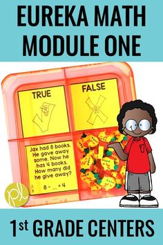 Eureka Math Centers - add mini-erasers and you have first grade math magic! This low prep math kit can easily be added to your math centers. It follows Eureka Math Module One, or Engage New York, but the composing and decomposing task cards can support any students needing extra hands-on practice with these skills.  #eurekamath #firstgrademath