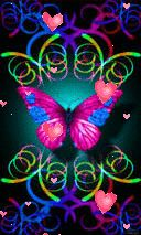 The Butterfly That Waits! Neon Wallpaper, Heart Wallpaper, Butterfly Wallpaper, Cellphone Wallpaper, Wallpaper Backgrounds, Iphone Wallpaper, Rainbow Butterfly, Cute Butterfly, Butterfly Flowers