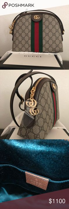 bc6293cfae64b Gucci GG Supreme Canvas Small Shoulder Bag New with tags Never been used  100% authentic