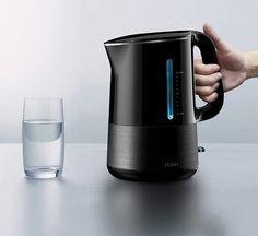 El hervidor de agua inteligente. Está bien diseñado y es práctico, está concebido para algunos de esos momentos en que usted necesita un poco de agua tibia y nada más. smart_kettle3