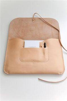 Leather Laptop Portfolio | Mjölk: Scandinavian & Japanese Design tagged at Mjölk