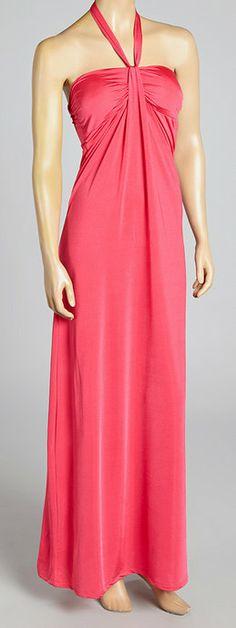 Fuchsia Gathered Maxi Dress, beautiful!!